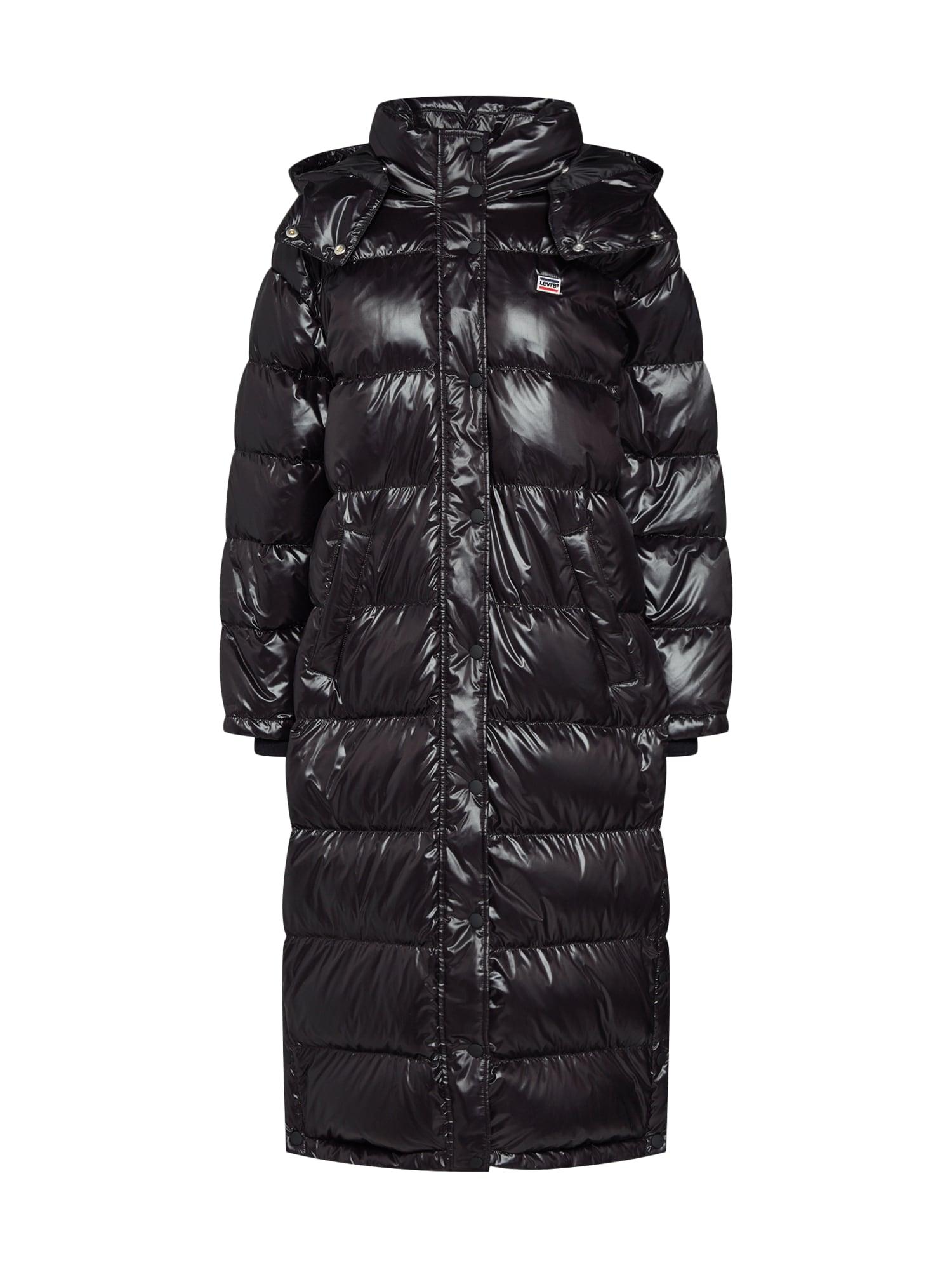 LEVI'S Žieminis paltas 'TOMO DOWN PUFFER' juoda