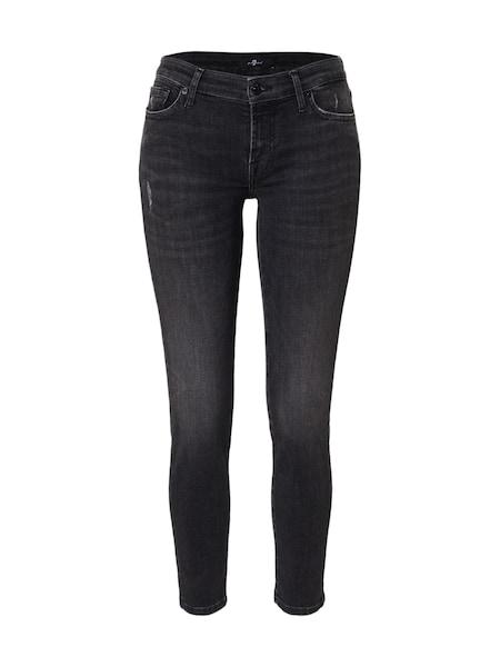 Hosen - Jeans 'Pyper' › 7 For All Mankind › black denim  - Onlineshop ABOUT YOU