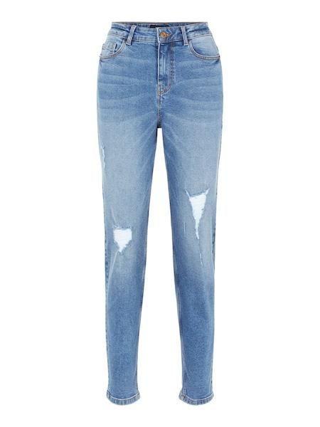 Hosen für Frauen - PIECES Jeans rauchblau  - Onlineshop ABOUT YOU