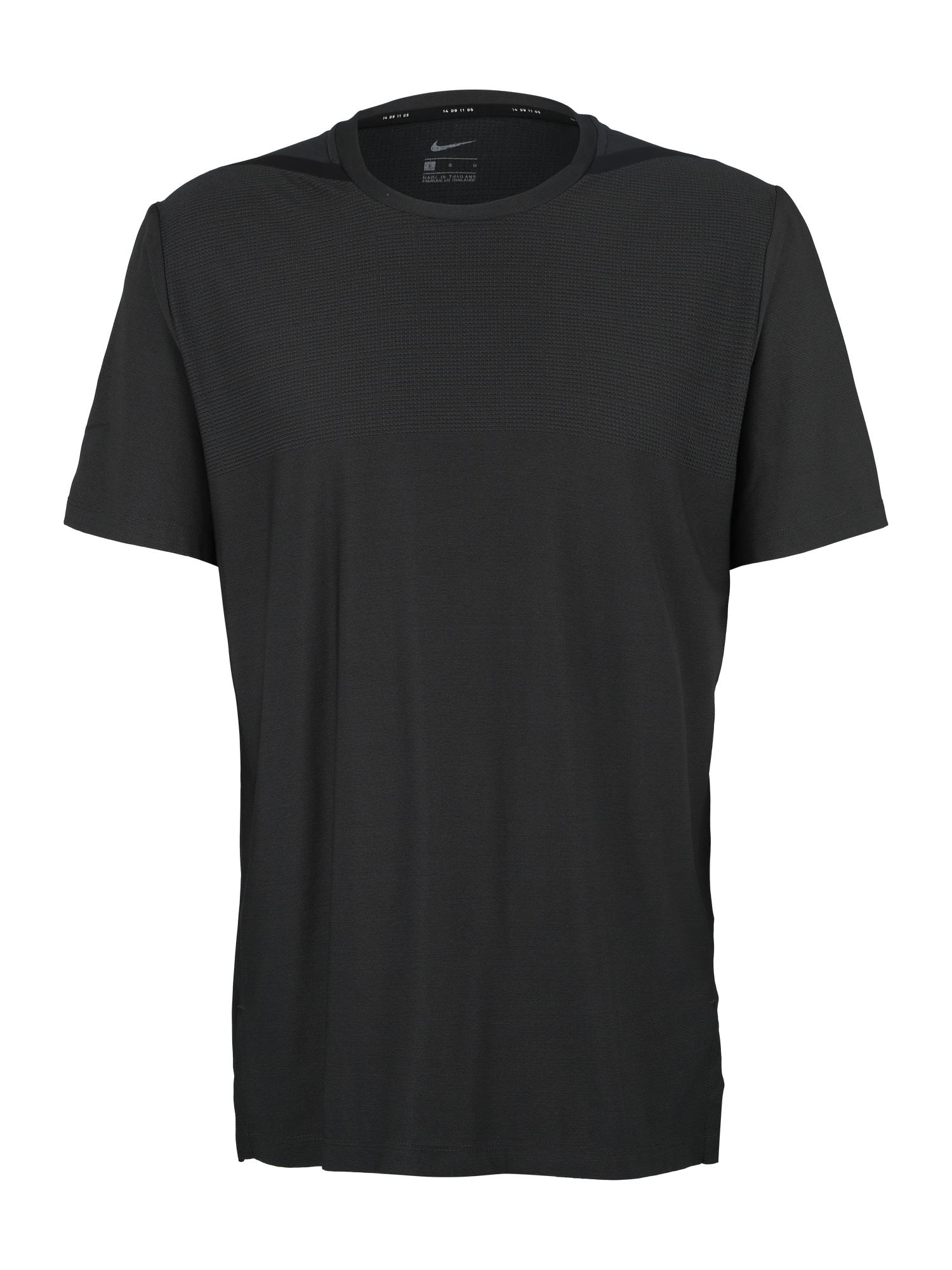 NIKE Funkční tričko 'DRY TOP TECH PACK'  tmavě šedá