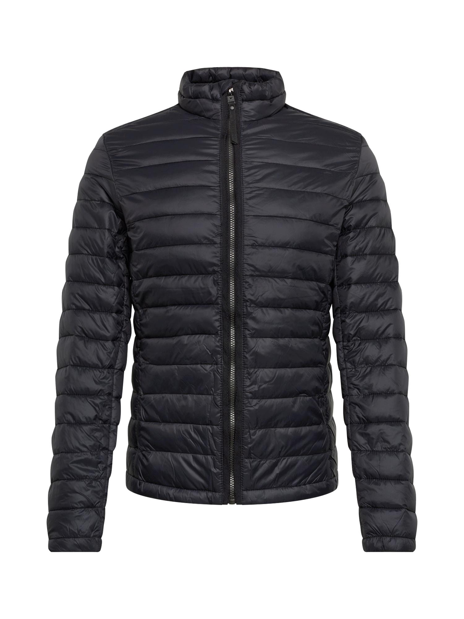 TOM TAILOR Téli dzseki 'light weight jacket'  fekete