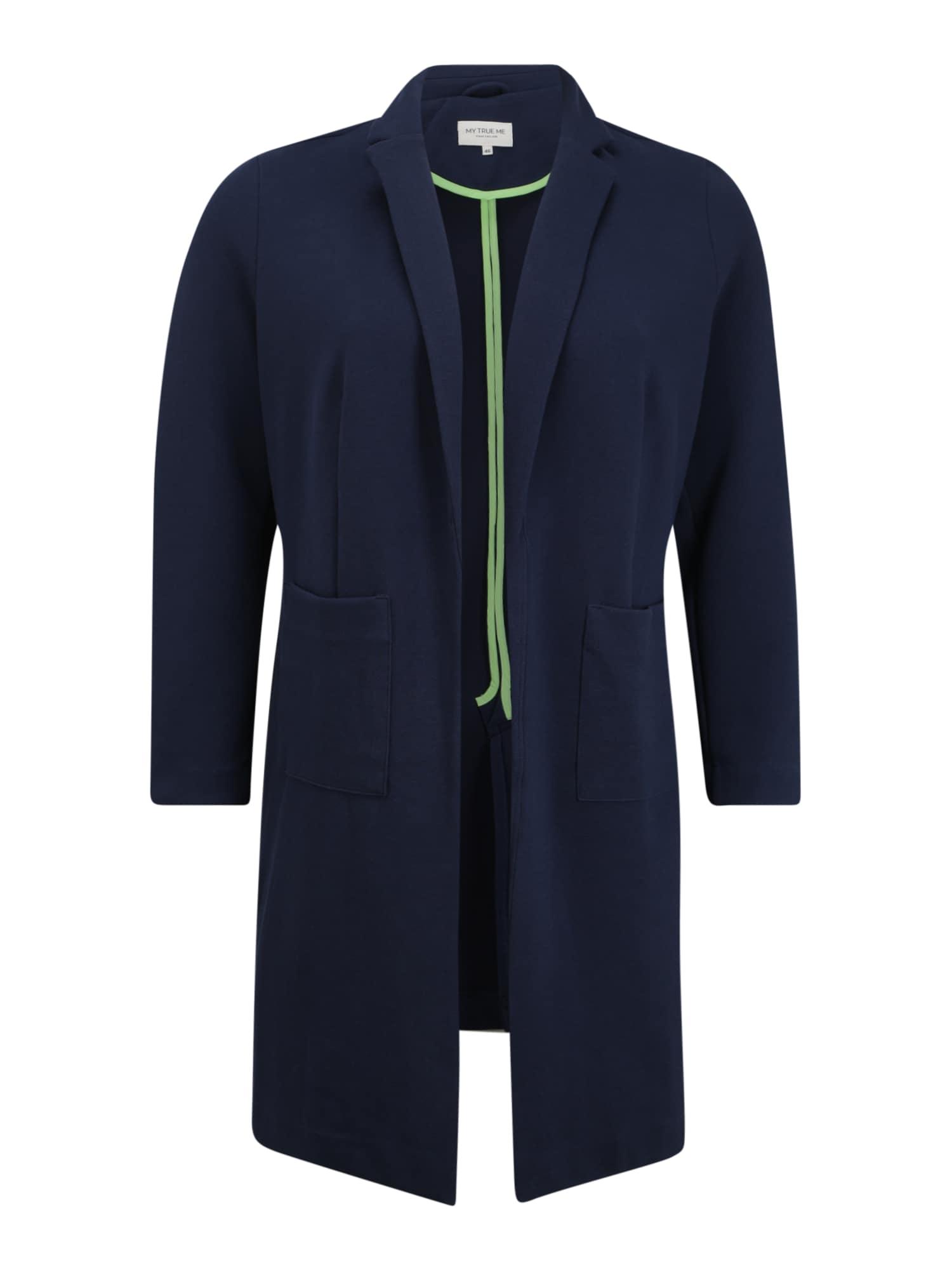 MY TRUE ME Rudeninis-žieminis paltas mėlyna