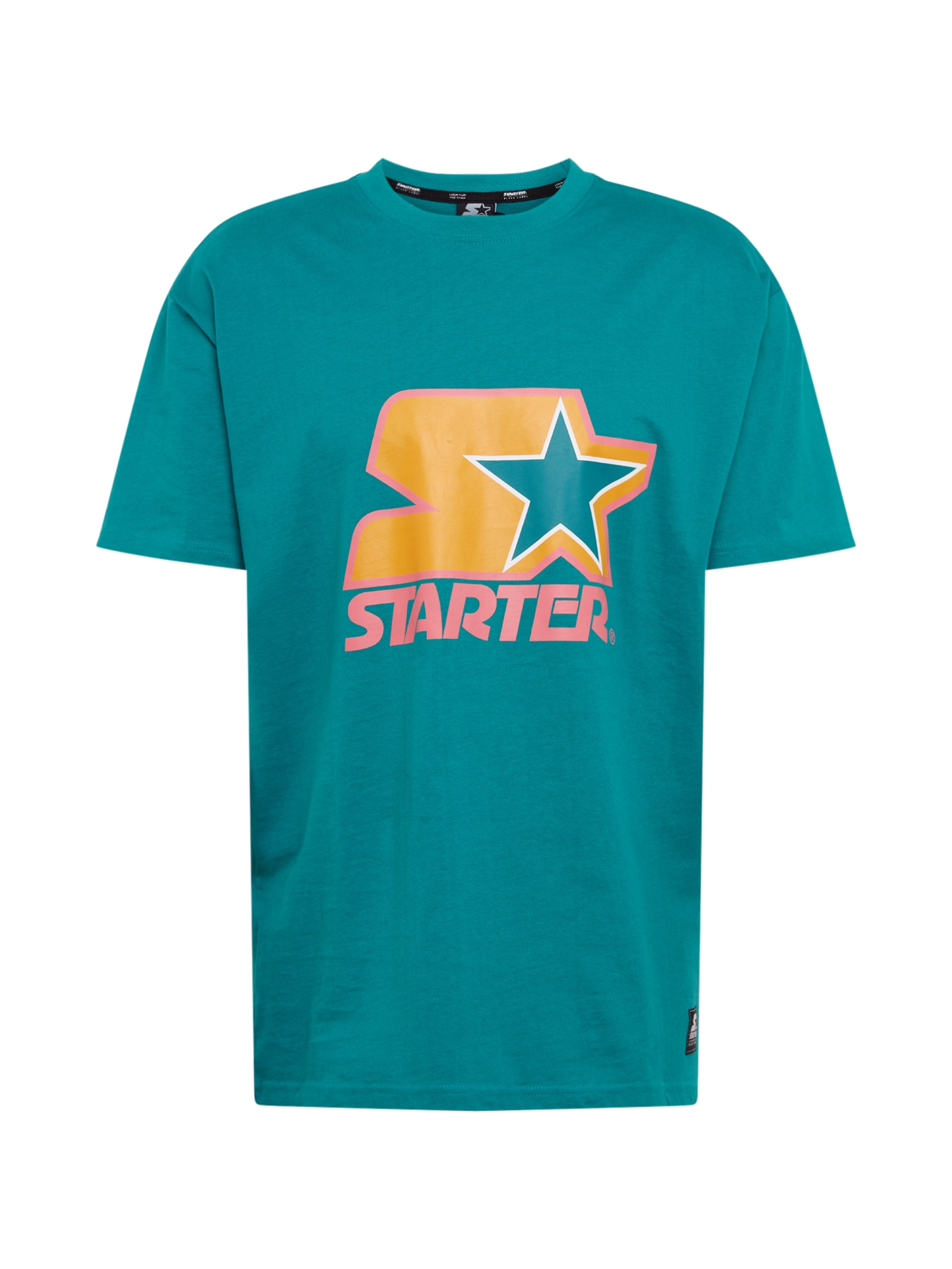 Starter Black Label Marškinėliai rožinė / žalia / geltona / balta / juoda