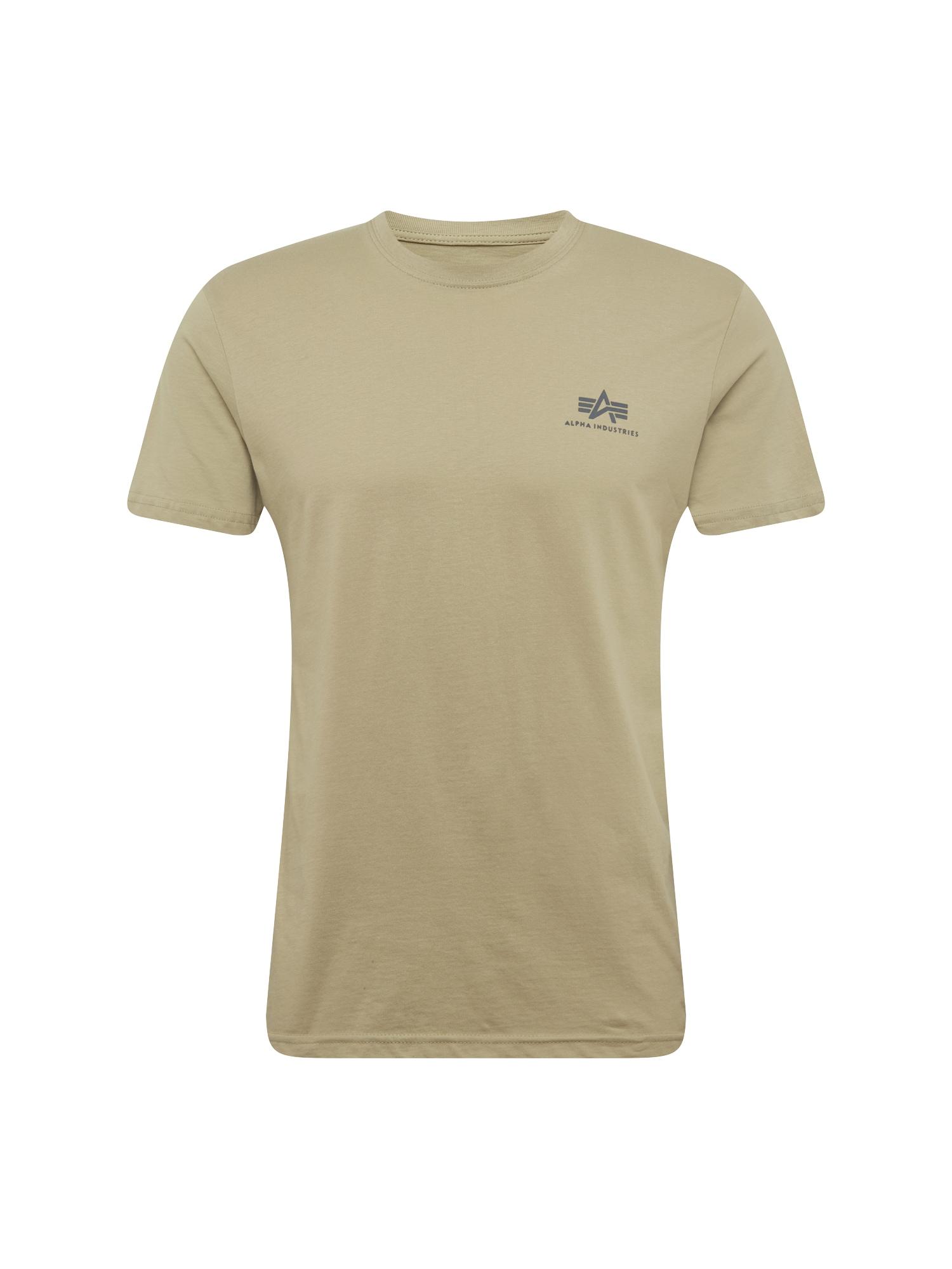 ALPHA INDUSTRIES Marškinėliai alyvuogių spalva