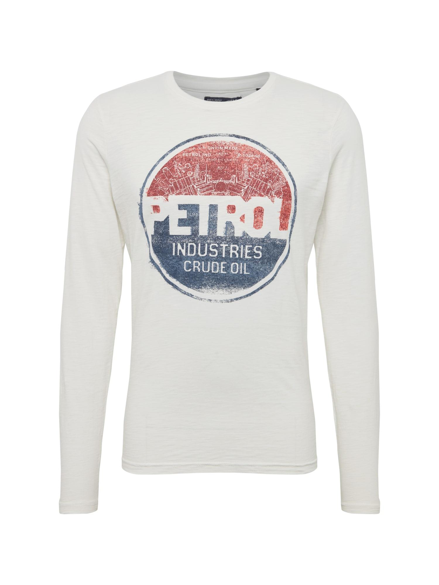 Tričko modrá červená bílá Petrol Industries
