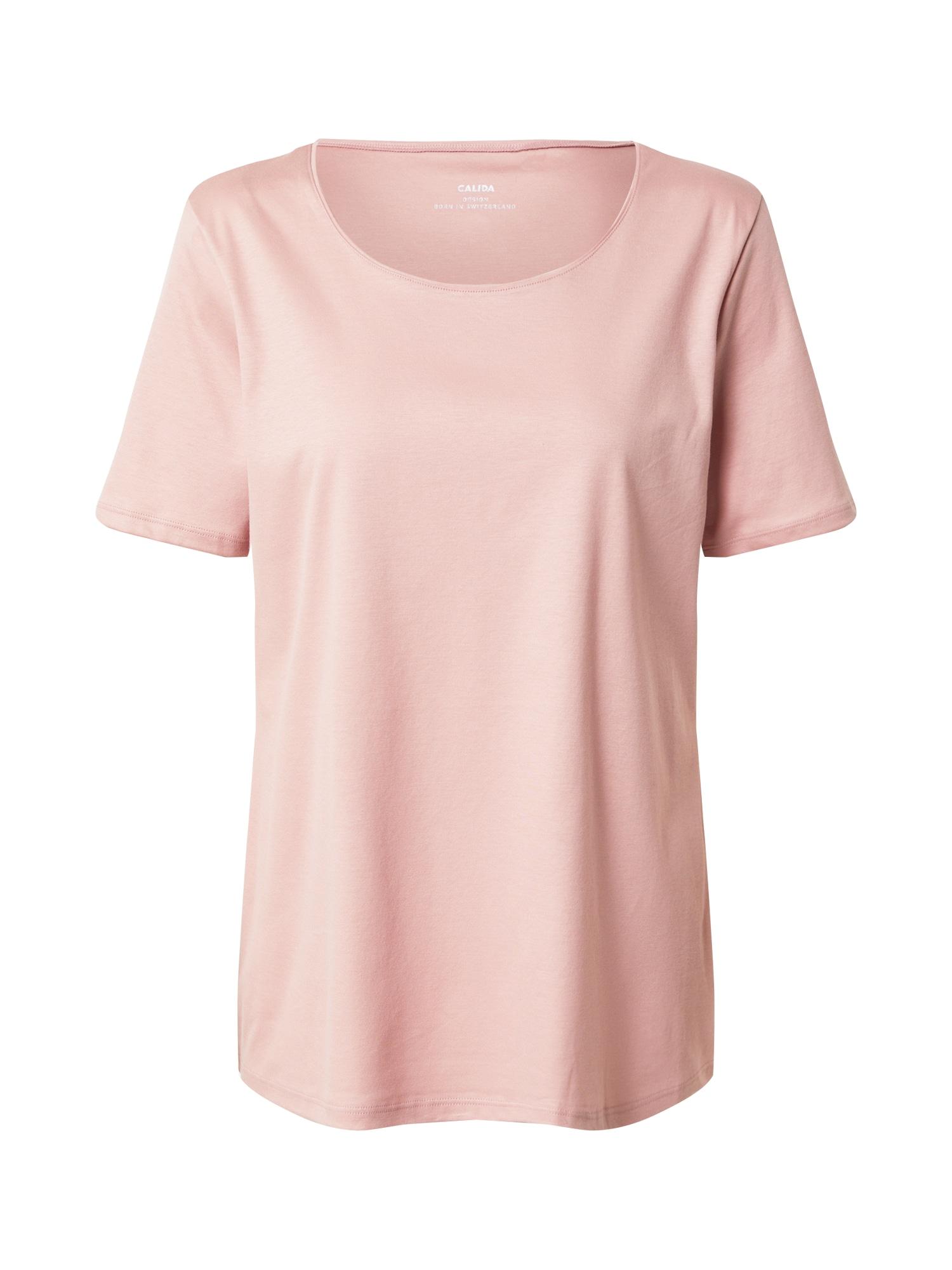 CALIDA Pižaminiai marškinėliai rožių spalva