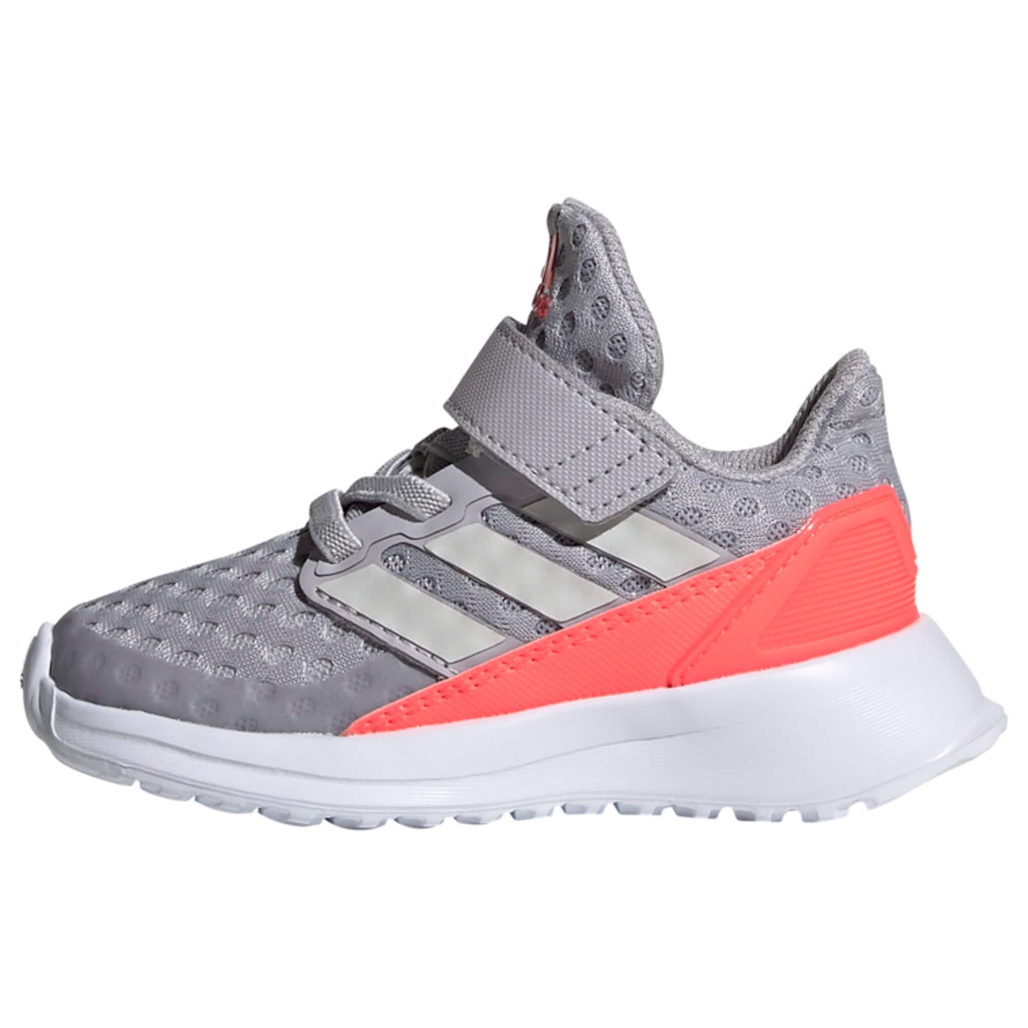 ADIDAS PERFORMANCE Sportovní boty 'RapidaRun'  svítivě růžová / šedá