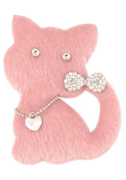 Broschen für Frauen - J. Jayz Brosche rosa  - Onlineshop ABOUT YOU