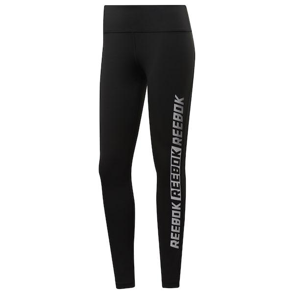 Hosen - Sporthose › Reebok › schwarz weiß  - Onlineshop ABOUT YOU