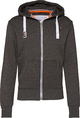 Superdry Sweatshirtjacke 'Orange Label Ziphood'