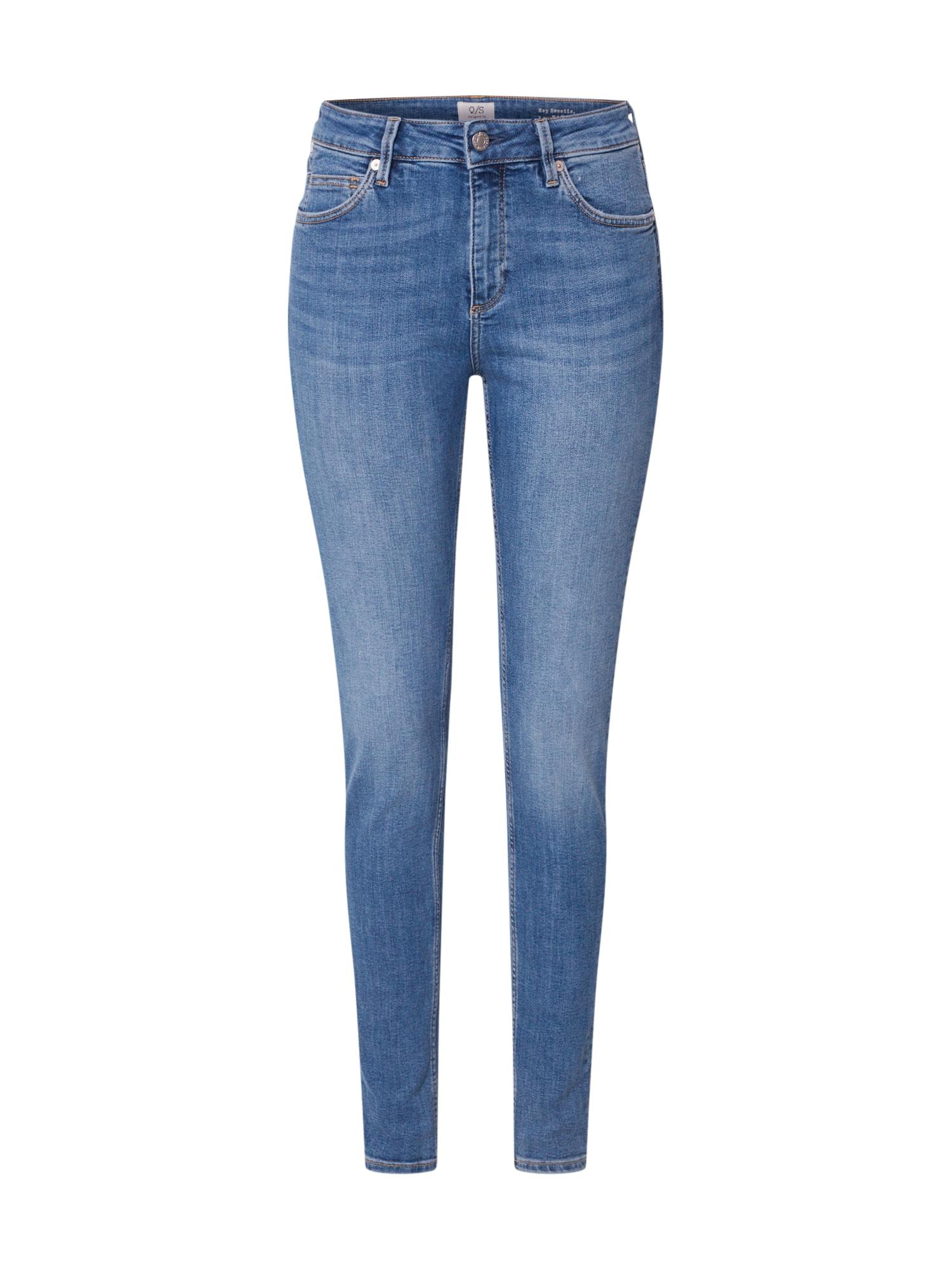 Q/S designed by Kelnės tamsiai (džinso) mėlyna