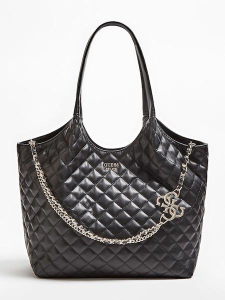 Shopper für Frauen - Shopper 'Miriam' › Guess › gold schwarz  - Onlineshop ABOUT YOU