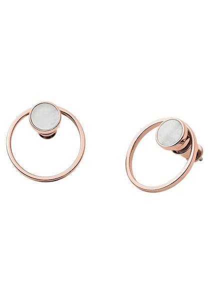 Ohrringe für Frauen - SKAGEN Ohrstecker 'AGNETHE' altrosa  - Onlineshop ABOUT YOU