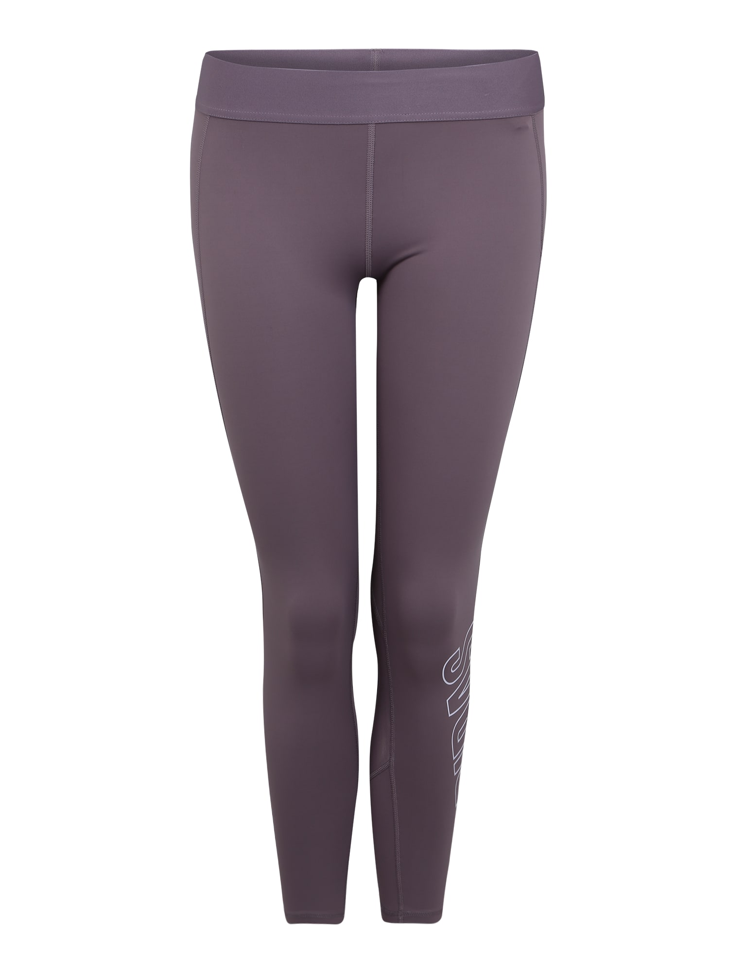 ADIDAS PERFORMANCE Sportinės kelnės 'Alpha Skin' purpurinė
