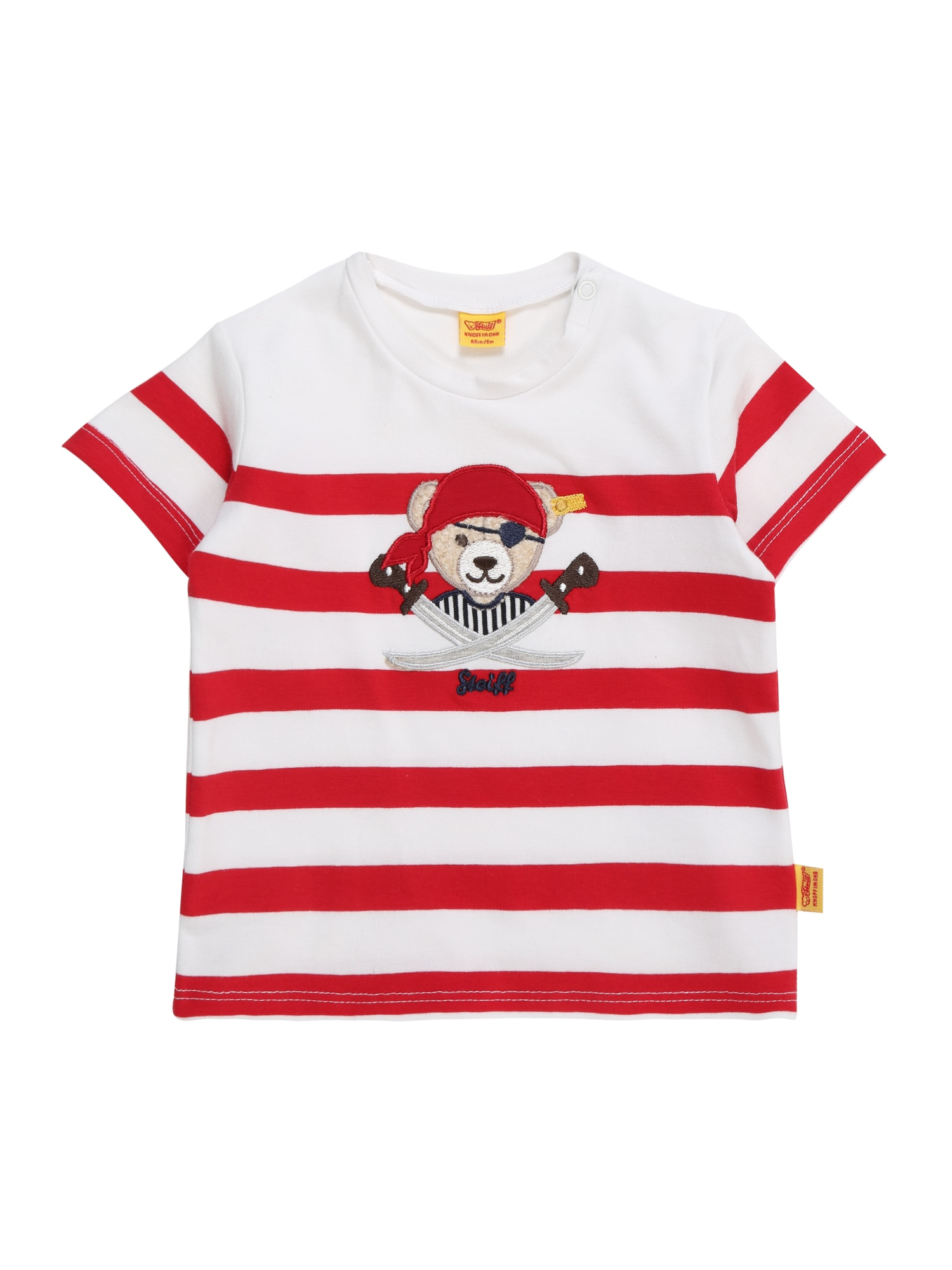 Tričko červená bílá Steiff Collection