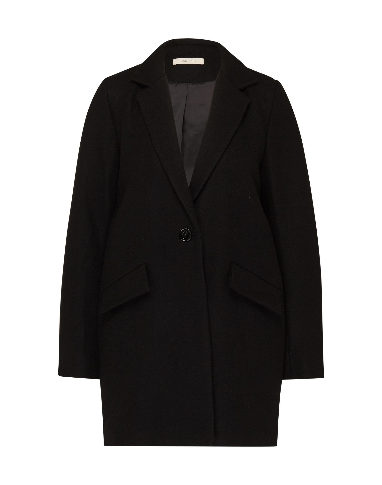 Přechodný kabát Hello Dol černá Sessun