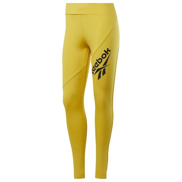 Hosen für Frauen - Leggings › Reebok Classic › gelb schwarz  - Onlineshop ABOUT YOU