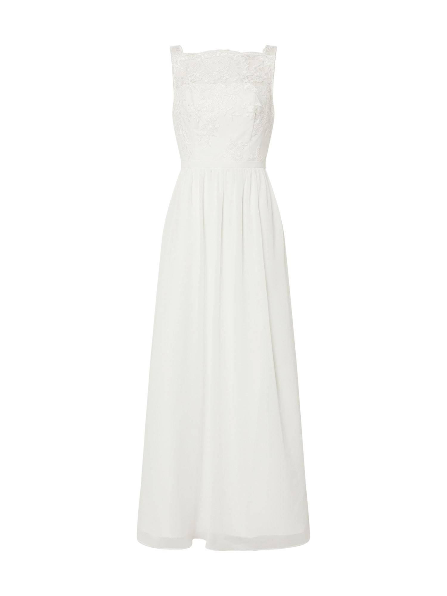 Chi Chi London Vakarinė suknelė 'BE52458DO' balta