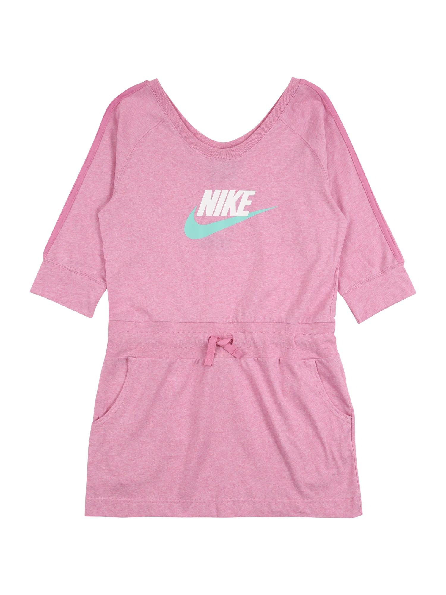 Nike Sportswear Sportinė suknelė 'Sportswear' rožinė