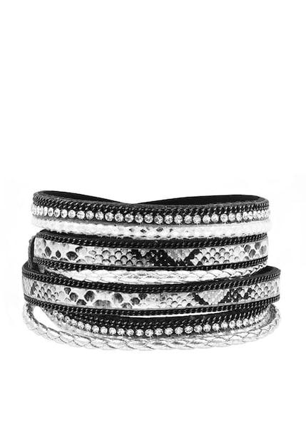 Armbaender - Armband › Lascana › schwarz silber  - Onlineshop ABOUT YOU