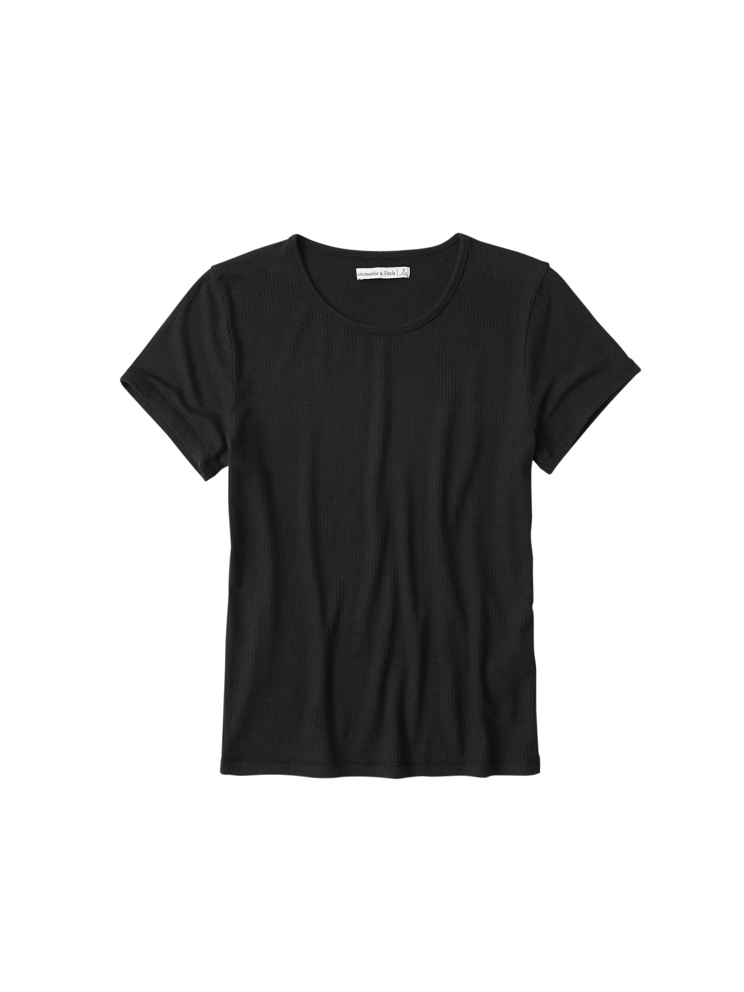 Abercrombie & Fitch Marškinėliai juoda