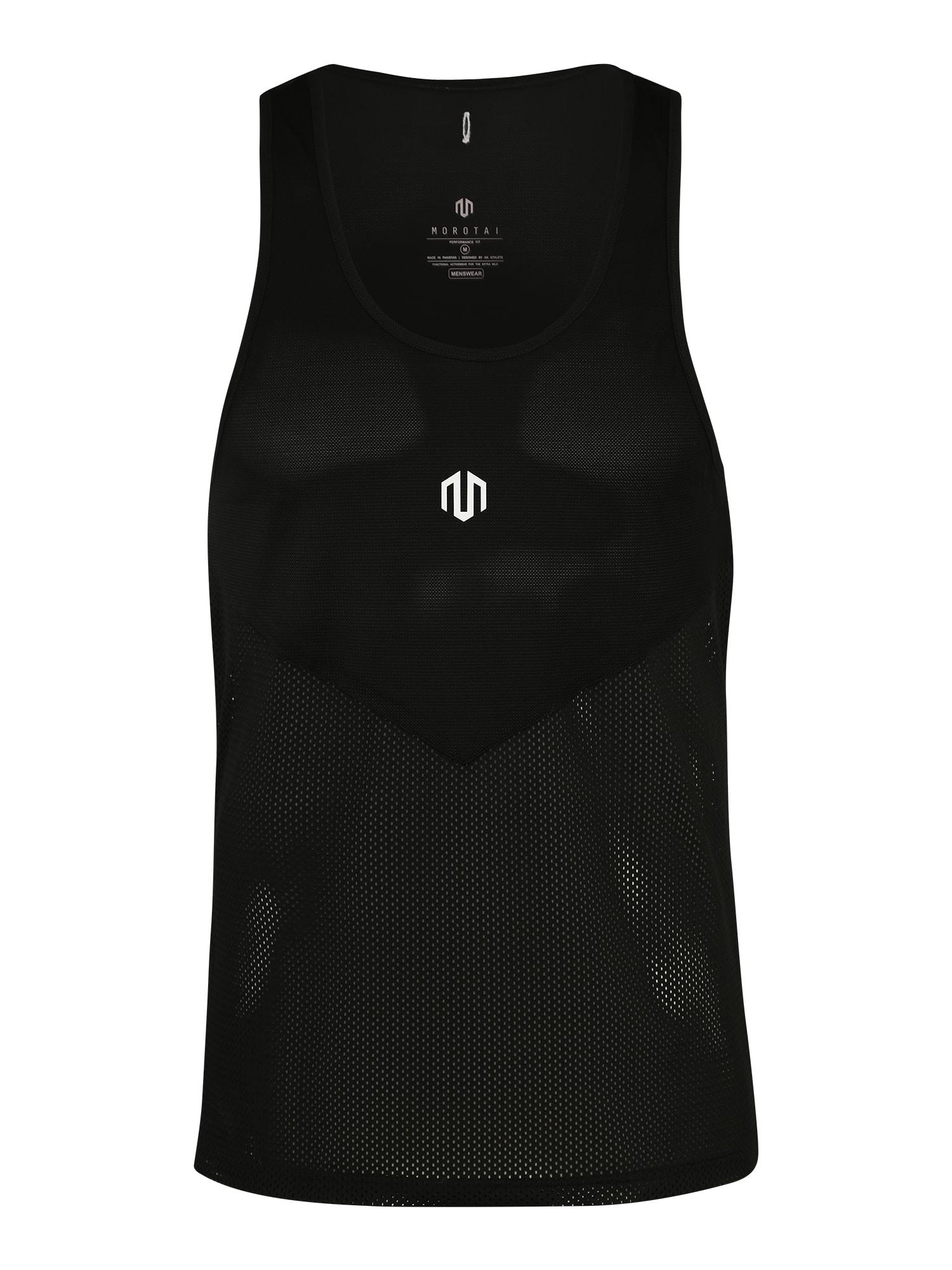 Funkční tričko MR Light Mesh Tanktop černá MOROTAI