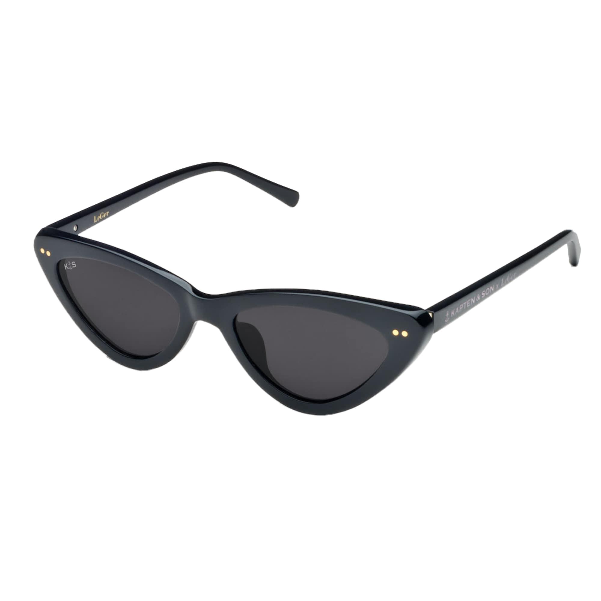 Sluneční brýle LeGer Waikiki Gloss Black černá Kapten & Son