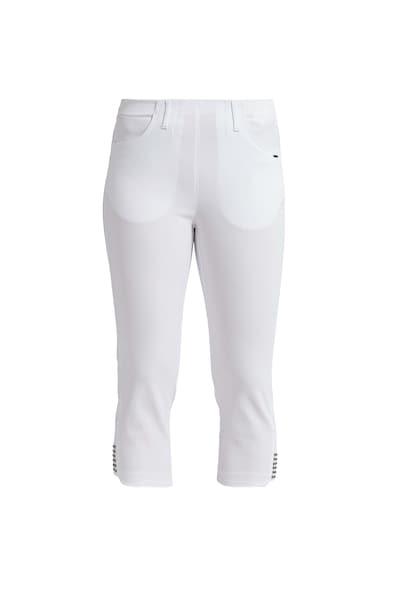 Hosen für Frauen - LauRie 3 4 Hose 'Mona' im eleganten Look weiß  - Onlineshop ABOUT YOU