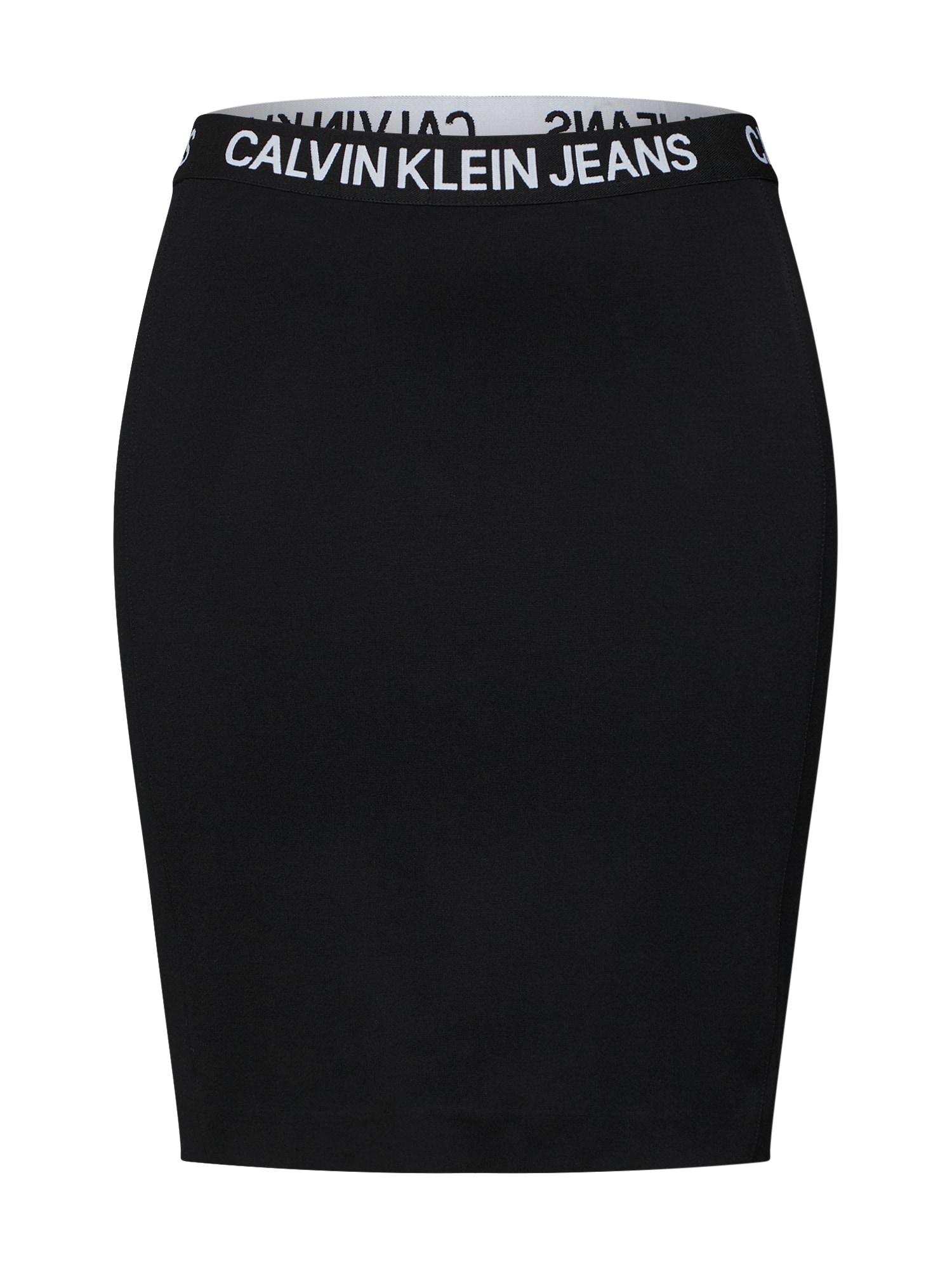 Sukně MILANO černá Calvin Klein Jeans