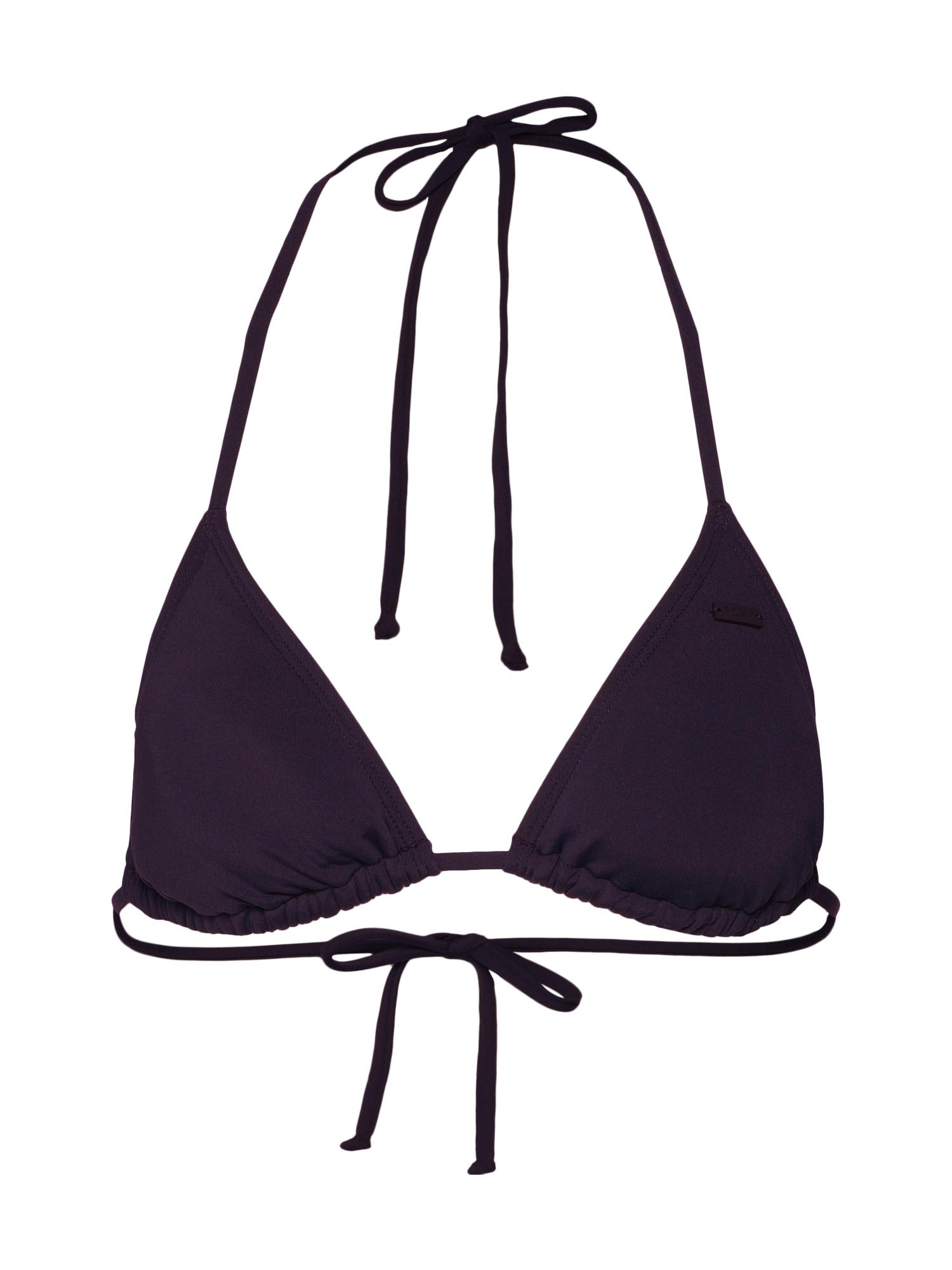 Horní díl plavek SD Beach Classics Mod Tiki Tri černá ROXY