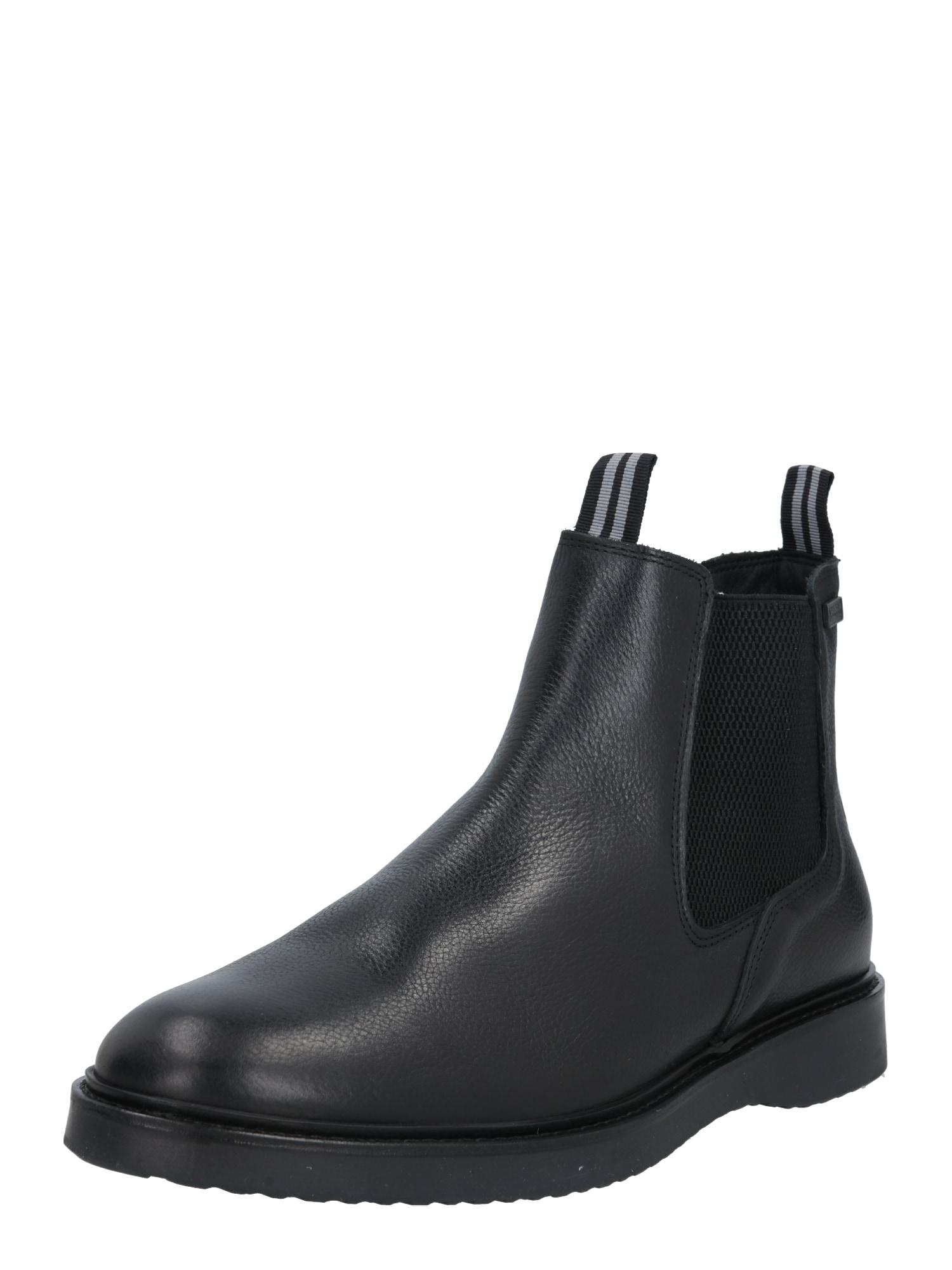 Barbour International Auliniai batai su kulniuku 'Crank' juoda