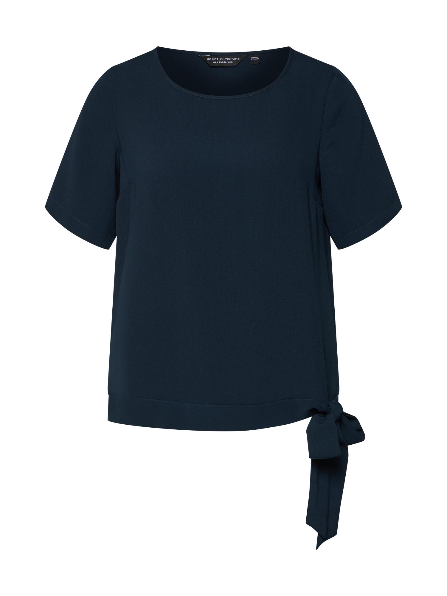 Tričko námořnická modř Dorothy Perkins