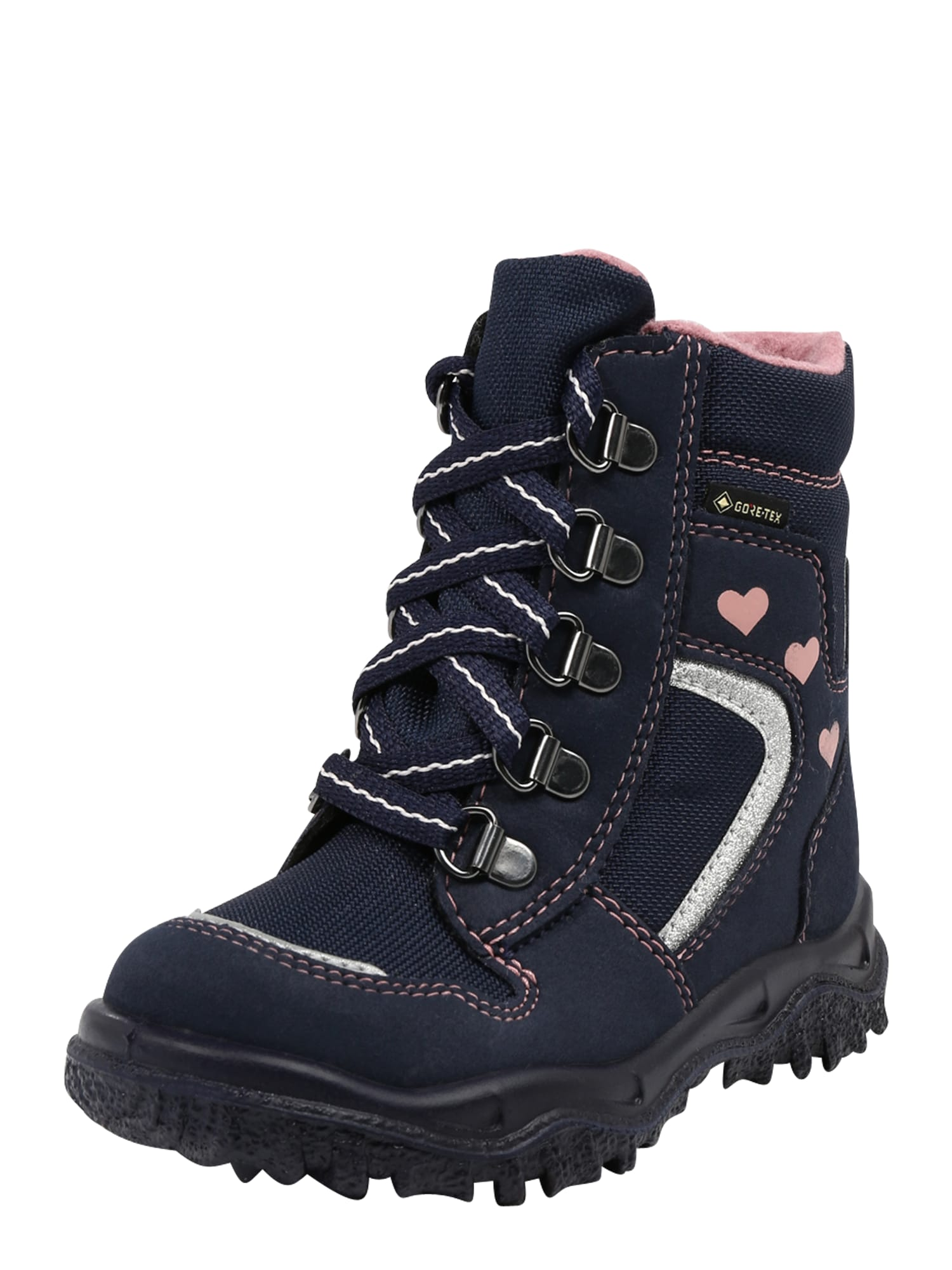 SUPERFIT Sniego batai mėlyna / rožių spalva