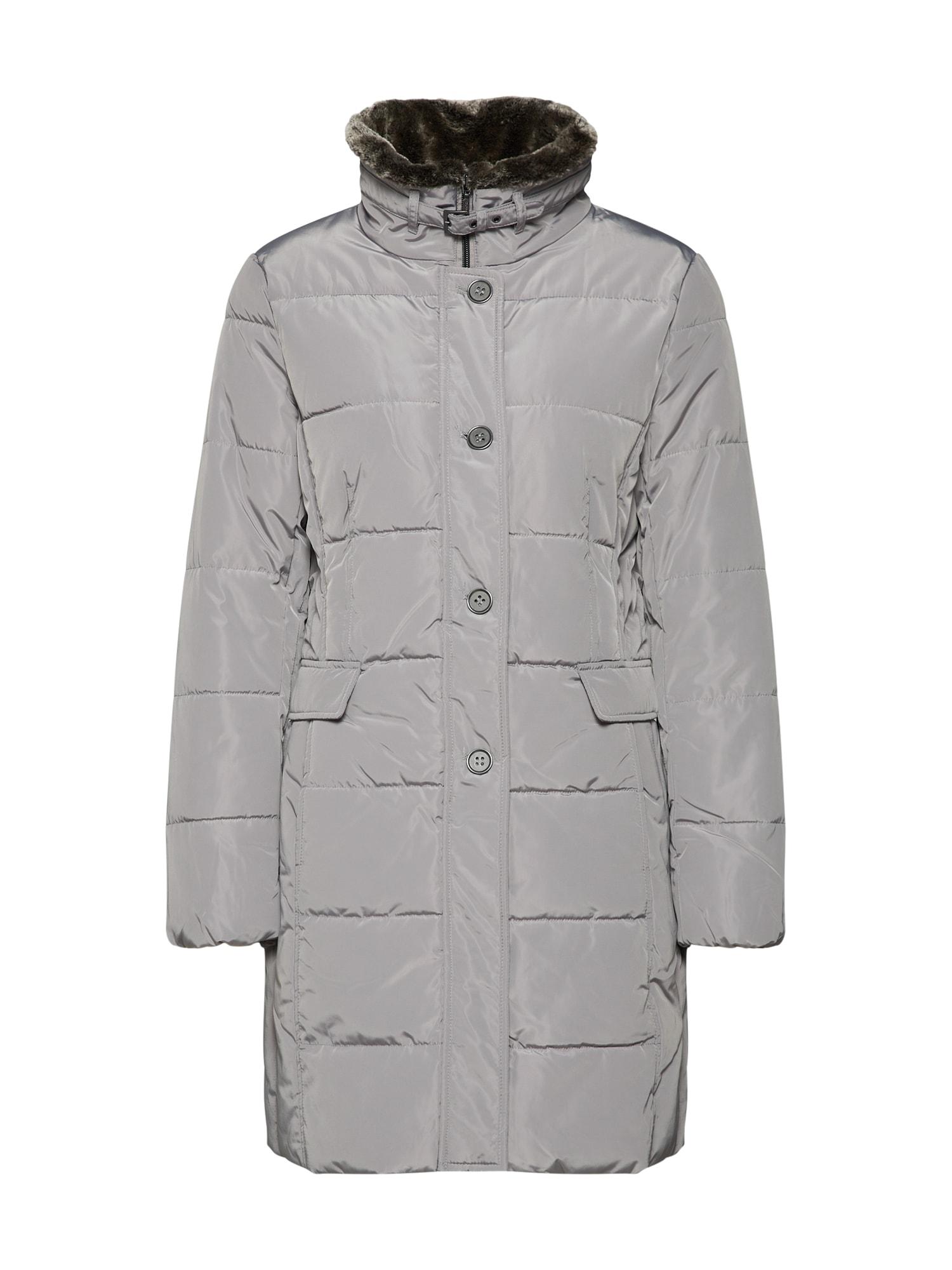 Zimní kabát šedá MORE & MORE