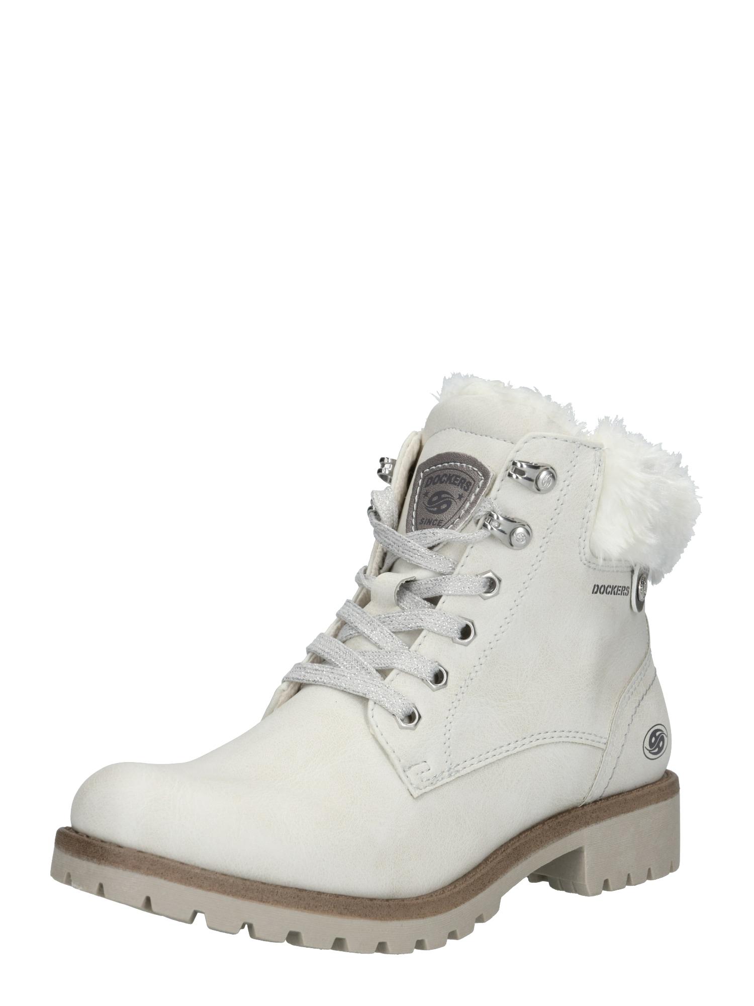 Dockers by Gerli Suvarstomieji kulkšnis dengiantys batai balta