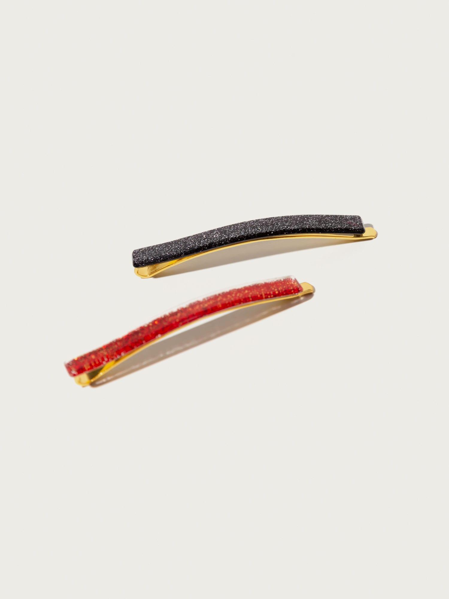 Šperky do vlasů Sparkle červená černá Pico For EDITED