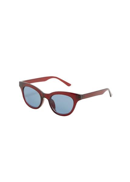 Sonnenbrillen für Frauen - MANGO Sonnenbrille 'Andrea' hellblau bordeaux  - Onlineshop ABOUT YOU