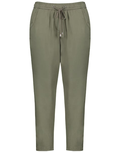 Hosen - Hose 'Mia' › SAMOON › khaki  - Onlineshop ABOUT YOU