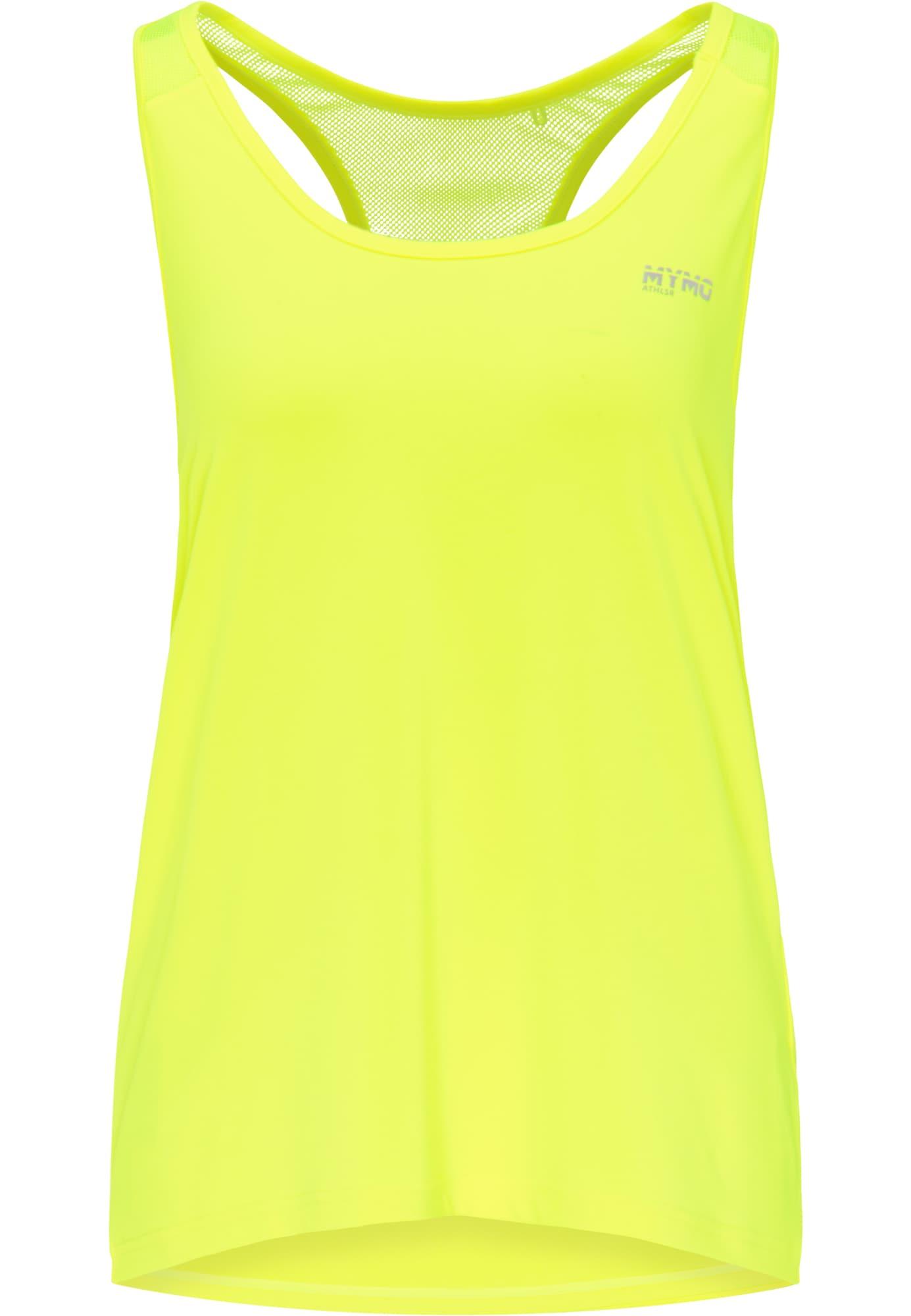 myMo ATHLSR Sportiniai marškinėliai be rankovių geltona