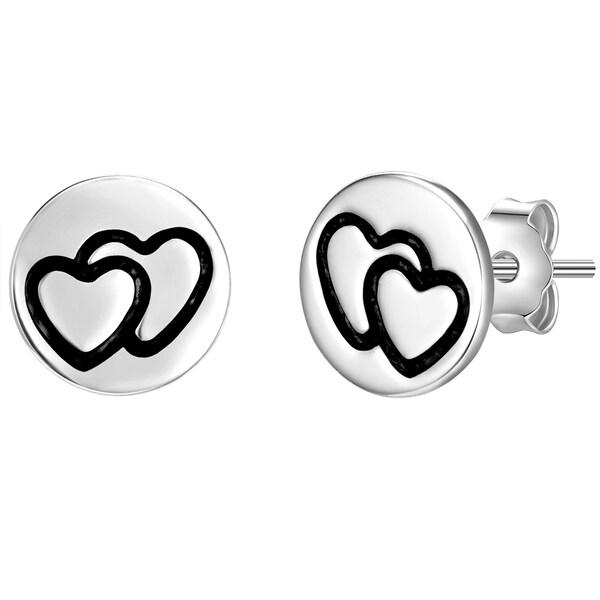 Ohrringe für Frauen - Ohrstecker › Glanzstücke München › schwarz silber  - Onlineshop ABOUT YOU