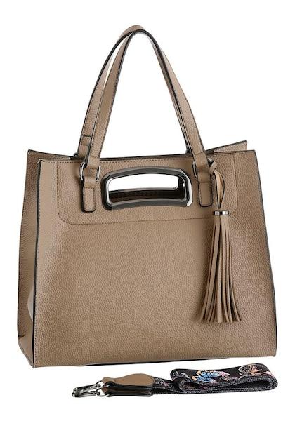 Handtaschen für Frauen - Henkeltasche › laura scott › taupe  - Onlineshop ABOUT YOU