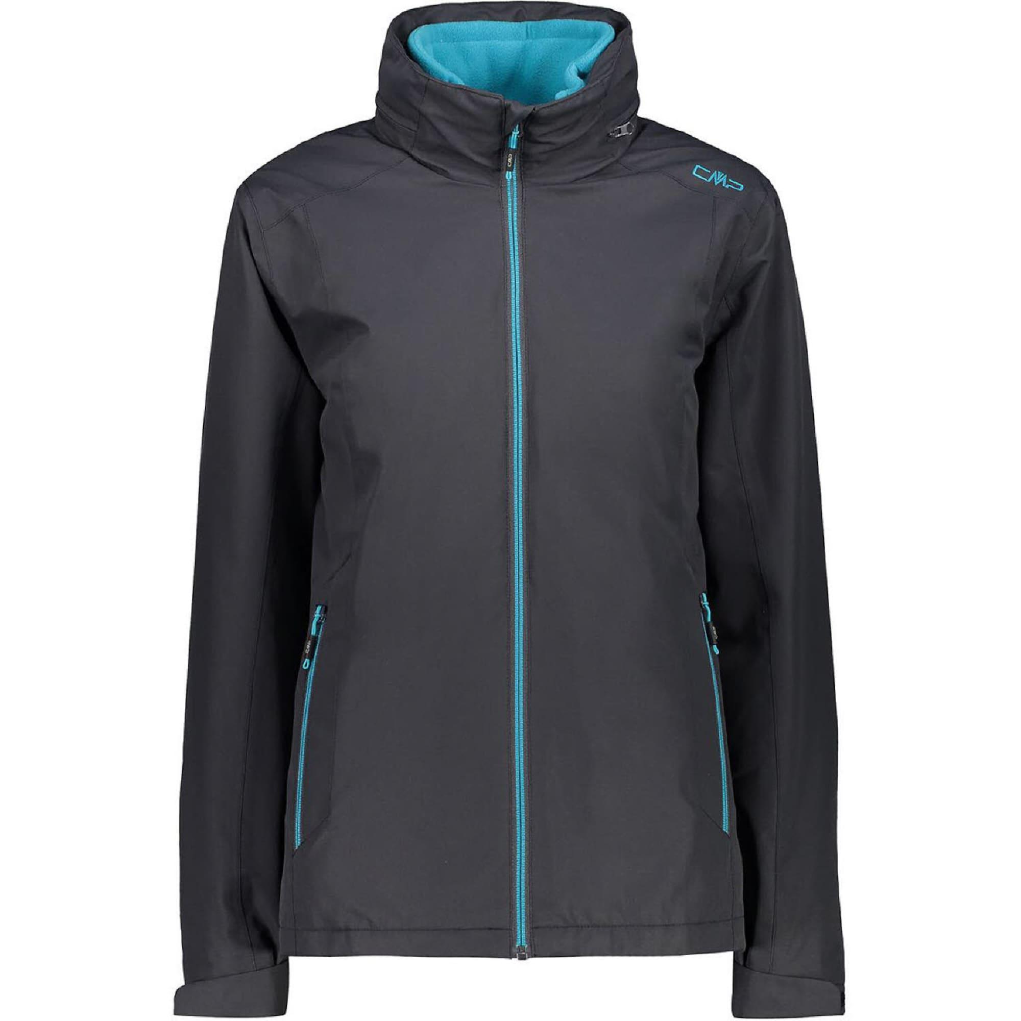 CMP Laisvalaikio striukė 'Doppel Arctic Fleece' turkio spalva / antracito