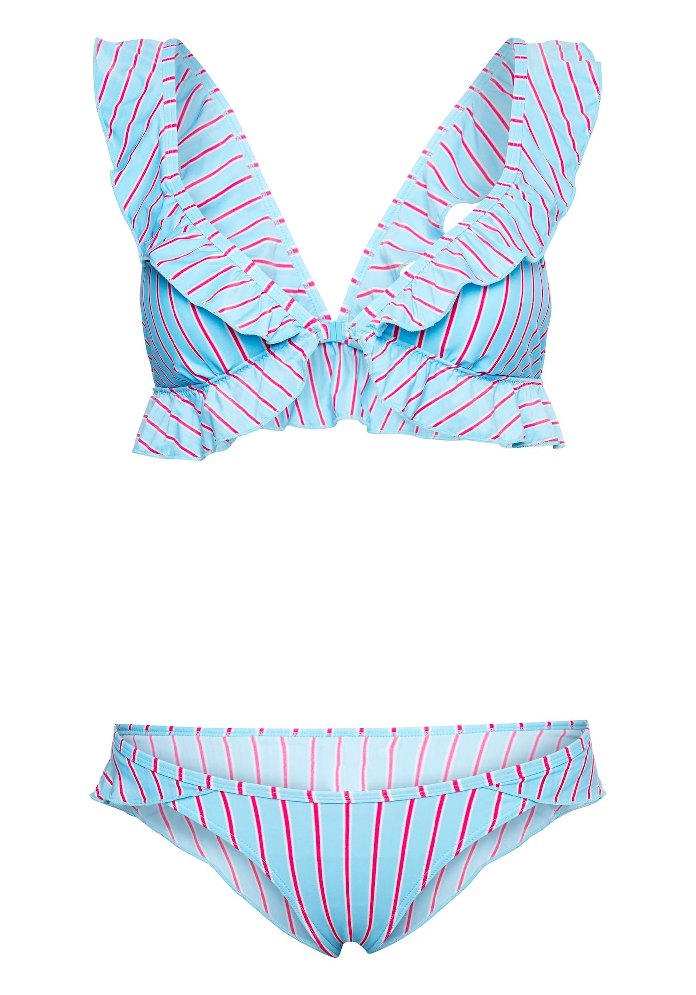 CHIEMSEE Bikinis šviesiai mėlyna / rožių spalva