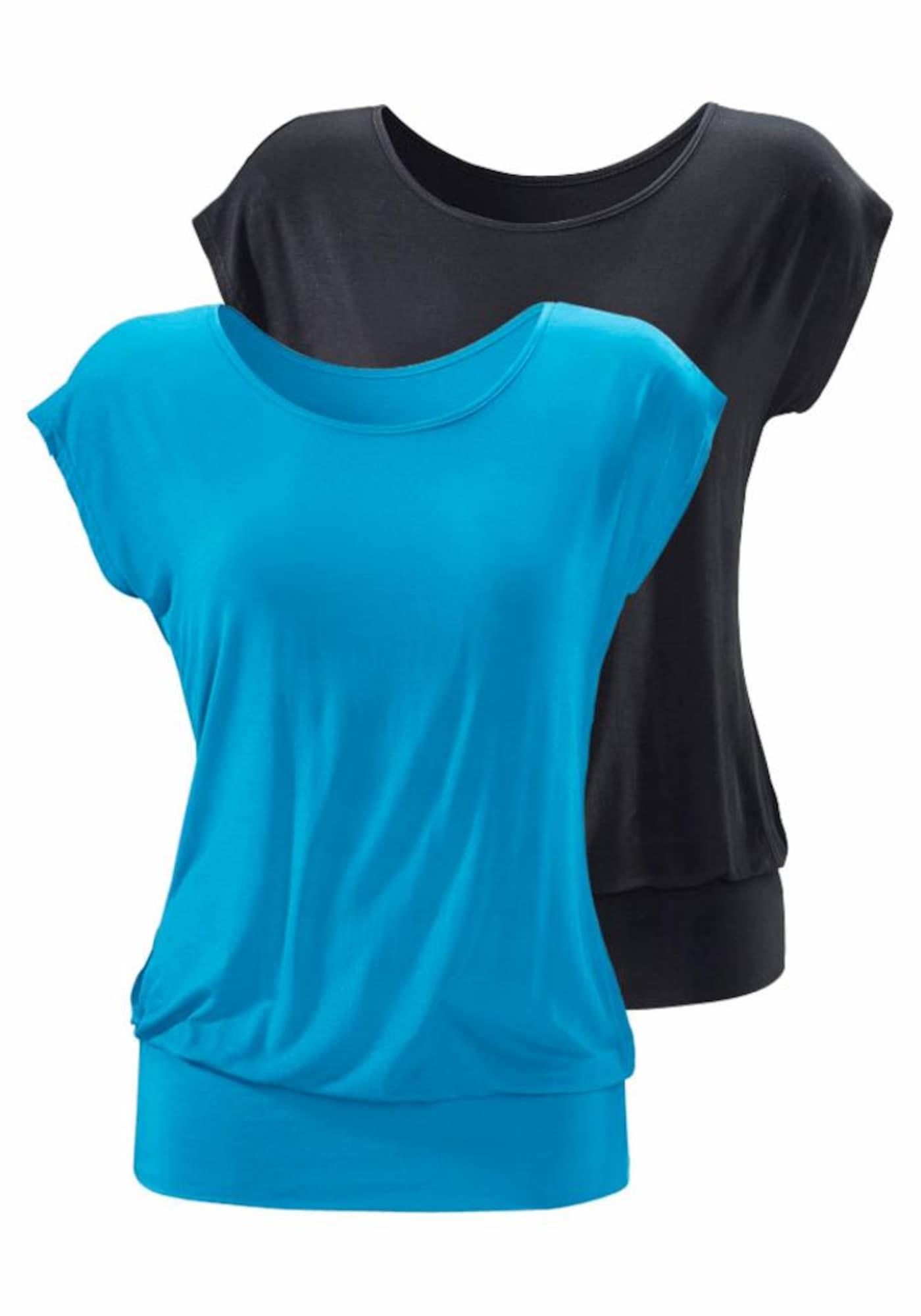 LASCANA Tricou  albastru