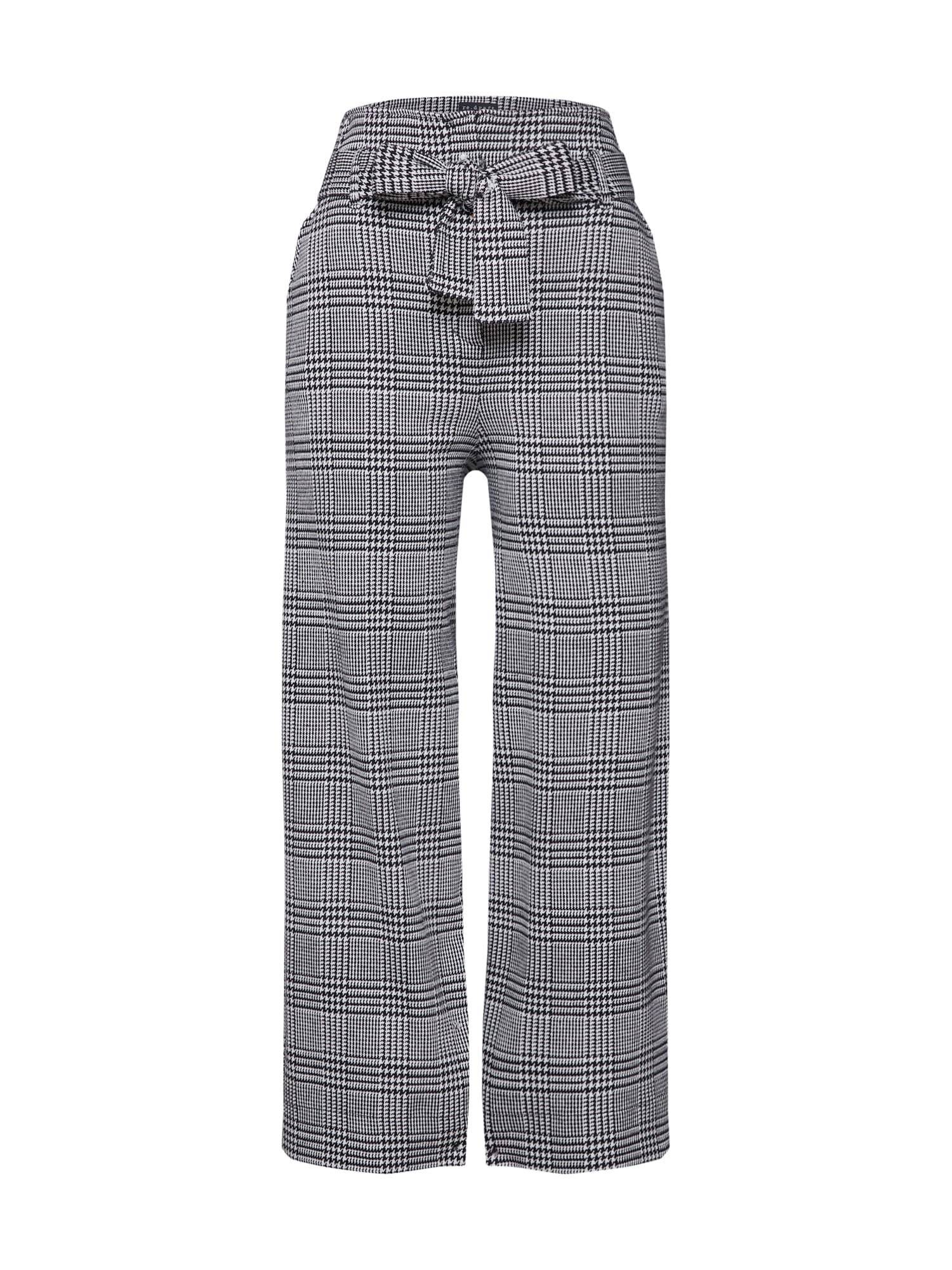 Kalhoty Wide Leg Pant šedá černá Re.draft