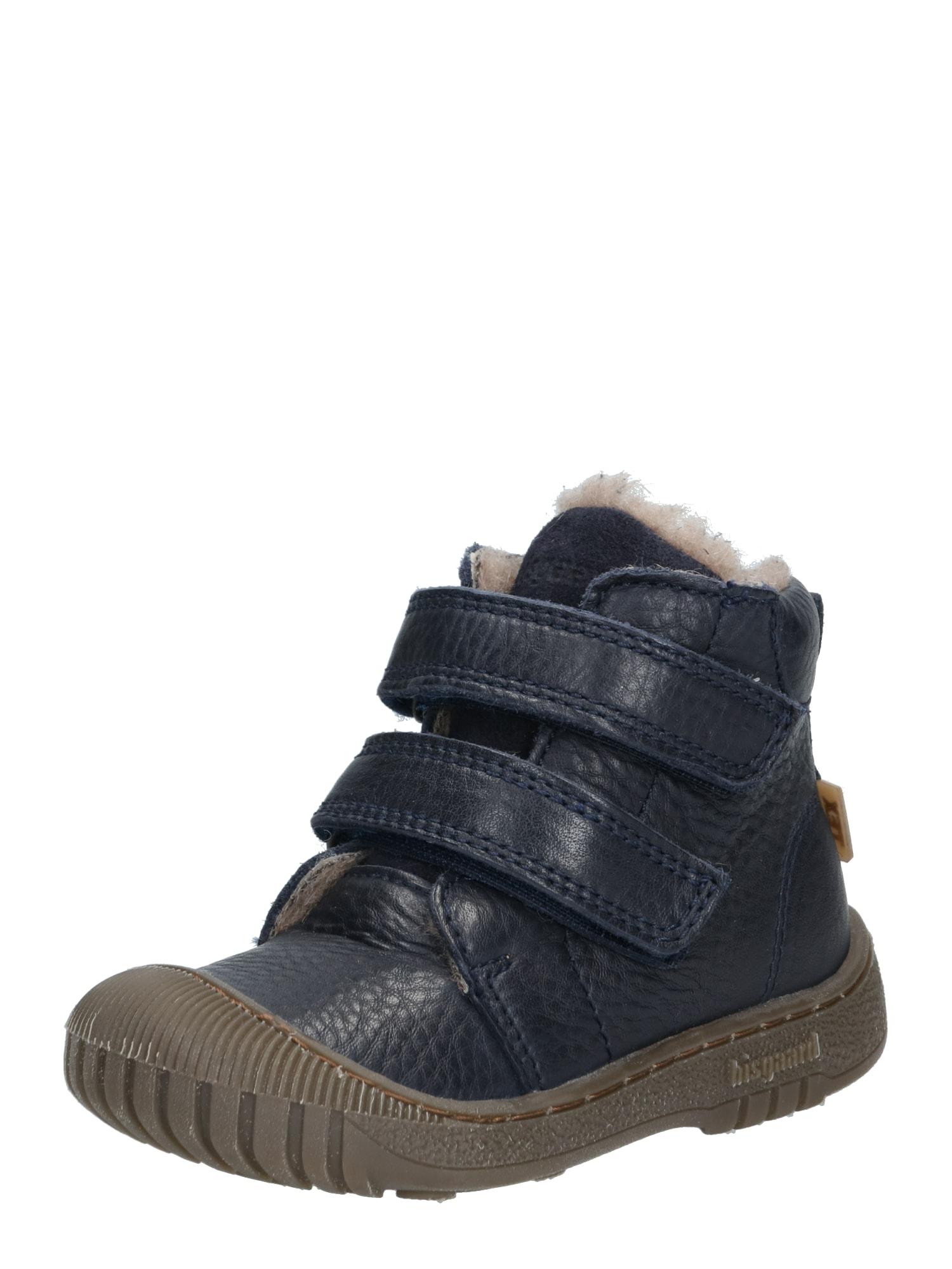 BISGAARD Auliniai batai su kulniuku 'TEX boot' tamsiai mėlyna