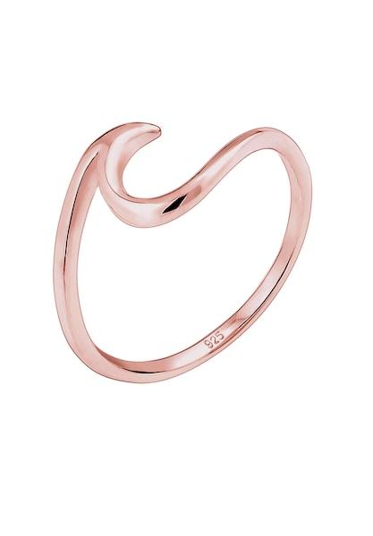 Ringe - Ring 'Wellen' › ELLI › rosegold  - Onlineshop ABOUT YOU