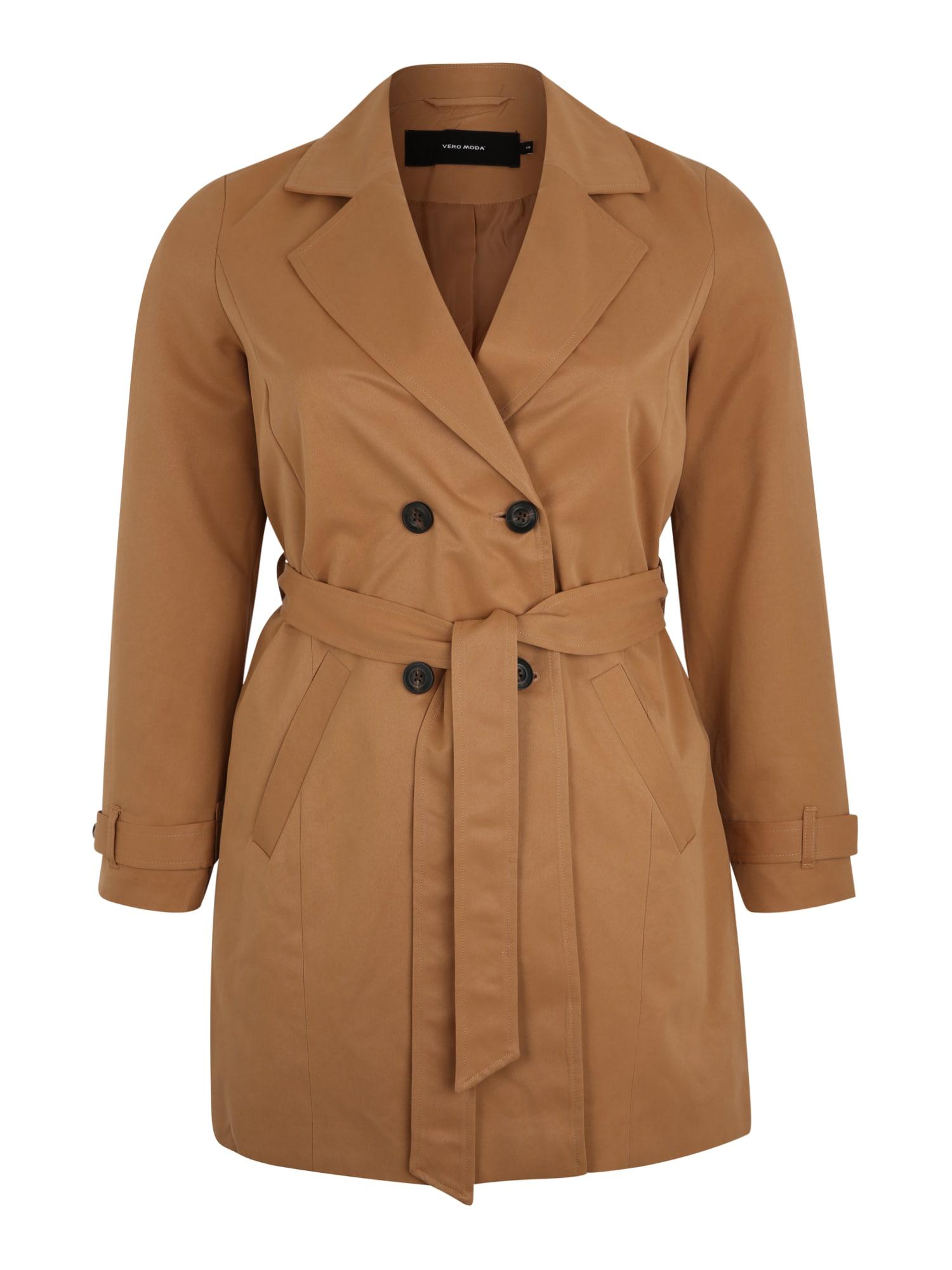 Vero Moda Curve Rudeninis-žieminis paltas kupranugario