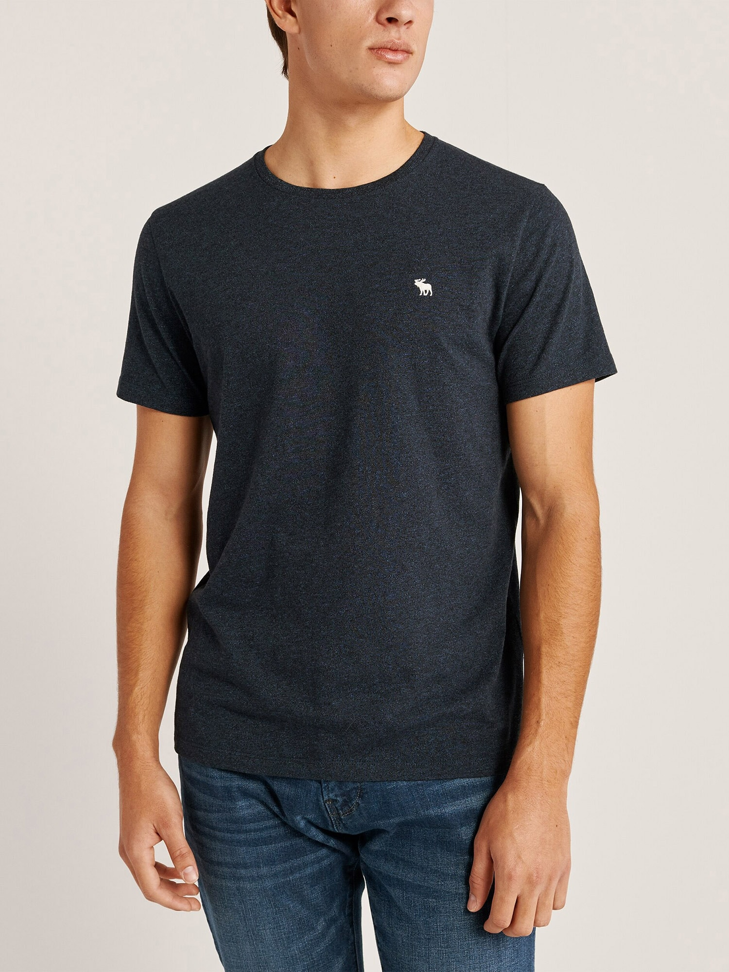 Abercrombie & Fitch T-shirt  marinblå