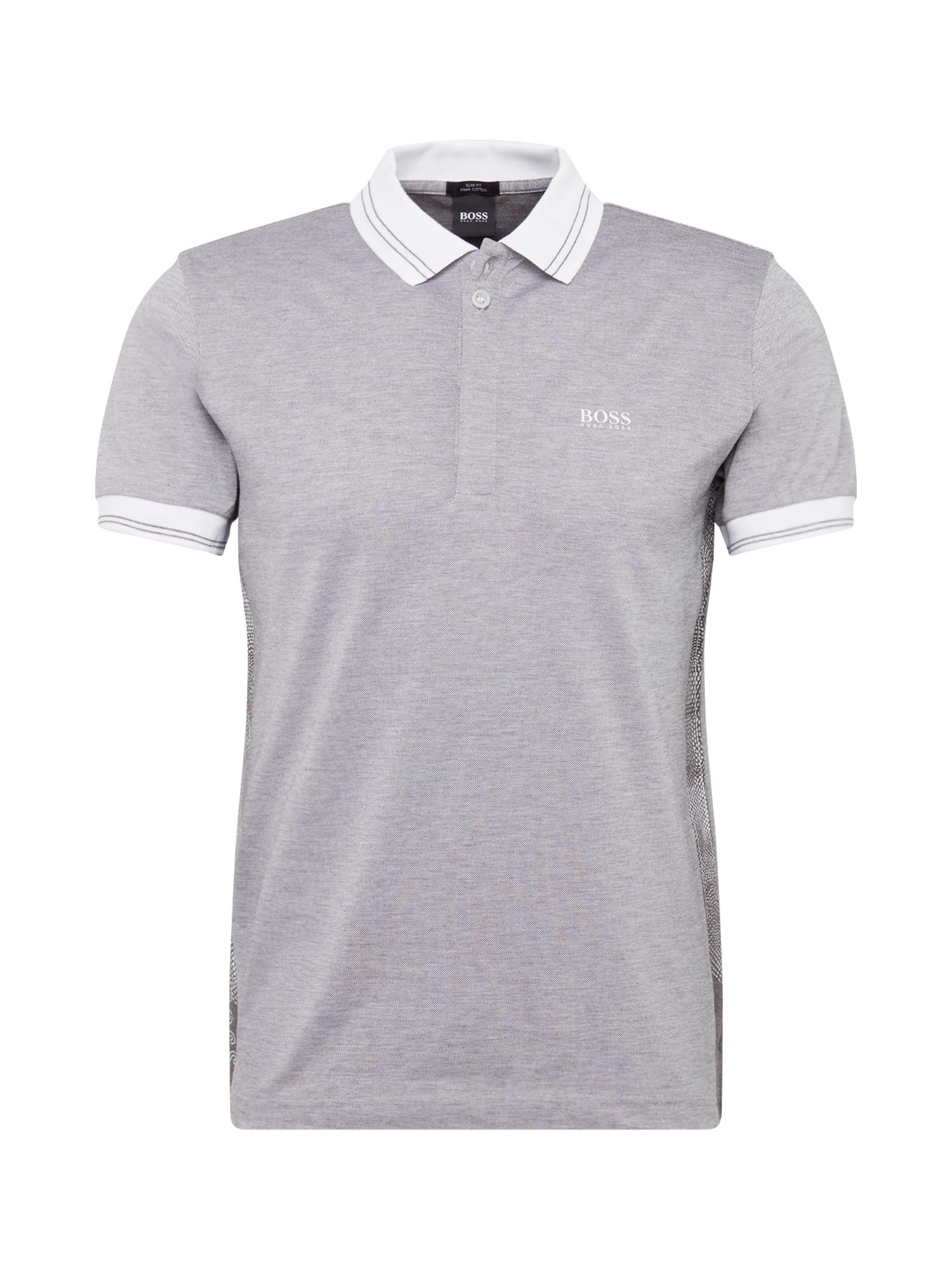 BOSS ATHLEISURE Marškinėliai 'Paule 2' šviesiai pilka